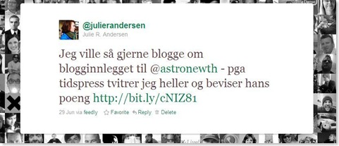 blogg vs twitter